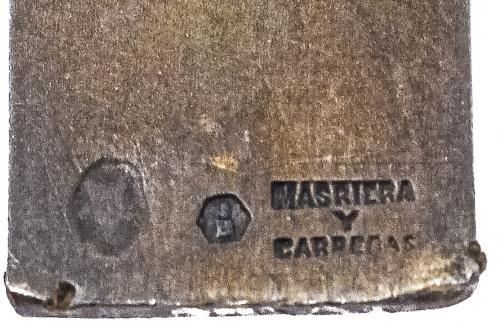CRUZ COLGANTE DE MASRIERA DE PPS. DEL S.XX
